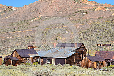 Bodie State Historic Park Stock Photo Image 64330402
