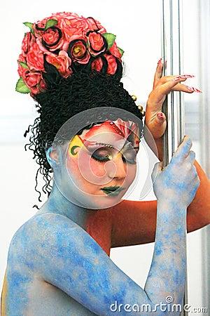 Body art Editorial Image