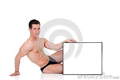 Body Builder advertising board