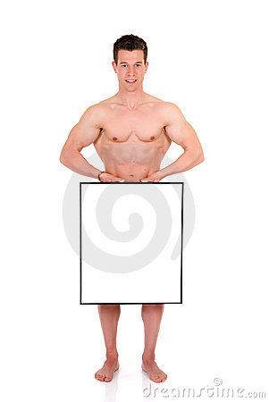 Body Builder advertising board