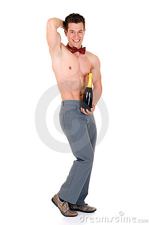 Body Builder, champagne