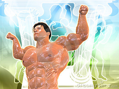 Body Building Background