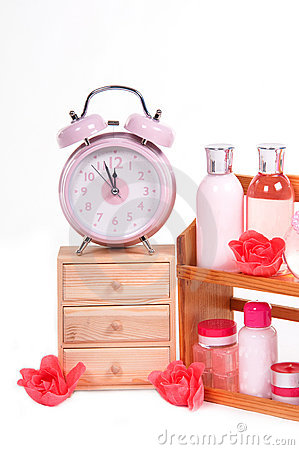 Body care objects and retro alarm clock