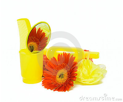 Body care set and flower