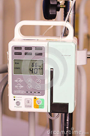 Body fluid infusion pump