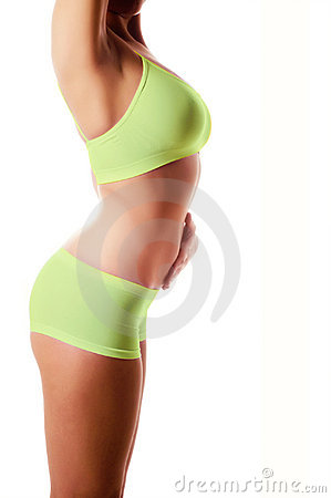 body isolated on white