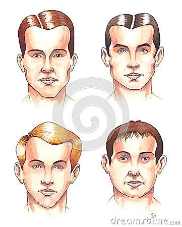 Body parts: faces