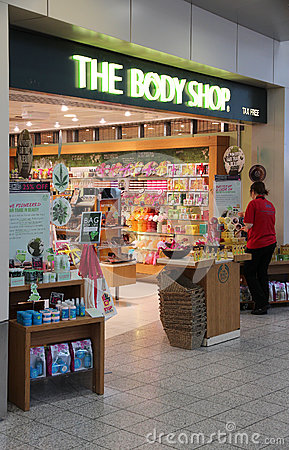 The Body Shop Editorial Image