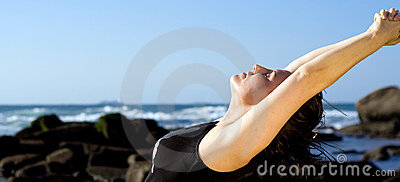 Body Stretch Royalty Free Stock Images - Image: 6547649