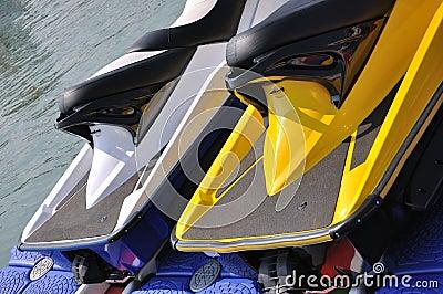 Body of two motor boat