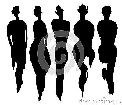 Body types set