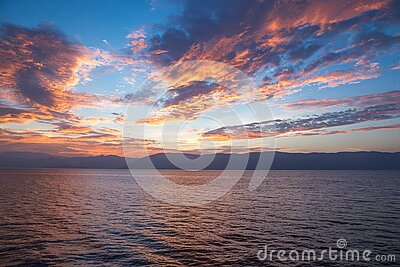 Body Of Water Under Cloudy Sky During Daytime Free Public Domain Cc0 Image