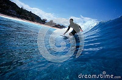 Bodyboarding Hawai