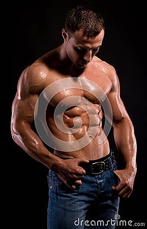 Free Bodybuilder. Stock Photo - 15238540