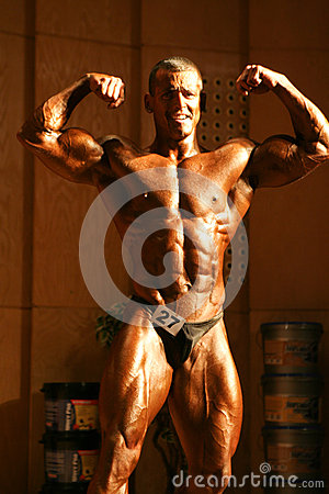 Bodybuilder Editorial Photography