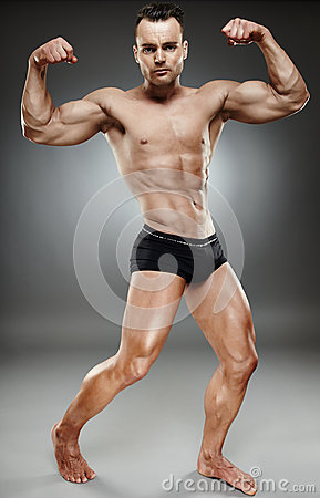 Bodybuilder full length