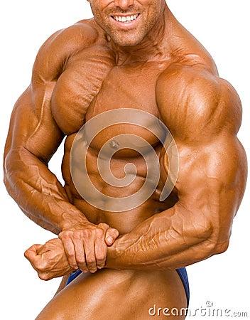 Free Bodybuilder Isolated Royalty Free Stock Photo - 385515