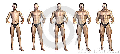 Bodybuilder s Step-by-Step Transformation