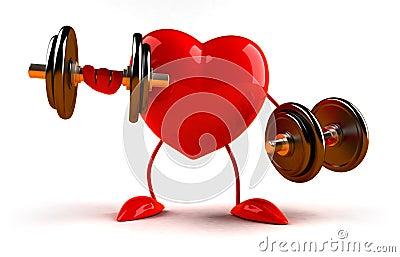 Bodybuilding heart