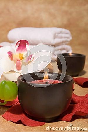 Free Bodycare Massage Items Stock Photography - 4584812