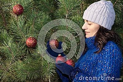 Boże narodzenia target2251_0_ drzewa