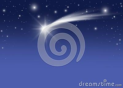 Boże narodzenie kometa