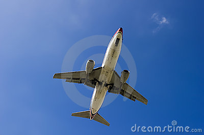 Boeing 737-300 airplane