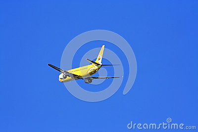 Boeing 737-400, nokair Editorial Stock Photo