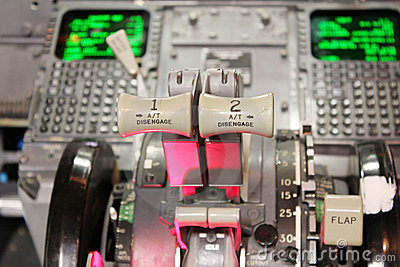 Boeing 737 flight deck