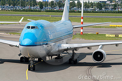 Boeing 747-400 Editorial Stock Image