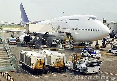 Boeing 747 Jumbo Jet Editorial Stock Image