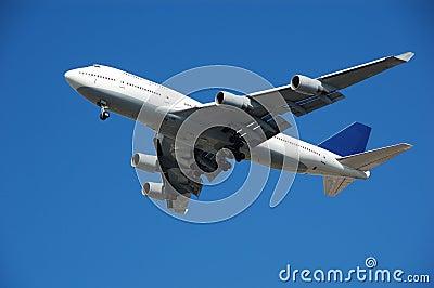 Boeing 747 jumbo passenger jet
