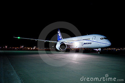 Boeing 787 Editorial Photography