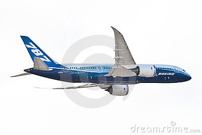 Boeing 787-800 Aircraft Editorial Photo