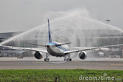 Boeing 787 Dreamliner Editorial Stock Image