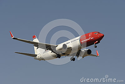 Boeing B737-86N Editorial Stock Image