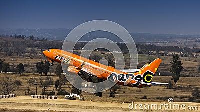 Boeing 737-8BG - Mango - ZS-SJO Editorial Image