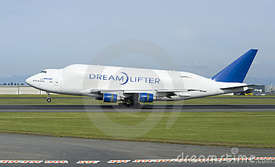 Boeing Dreamlifter Editorial Image
