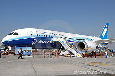Boeing Dreamliner 787 Editorial Stock Photo