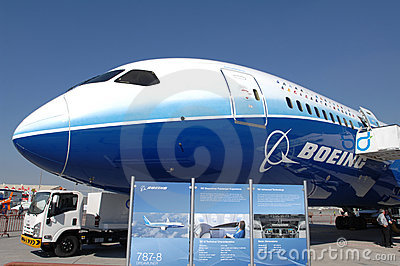 Boeing Dreamliner 787 Editorial Image