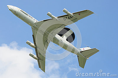 Boeing E-3A AWACS Editorial Photo