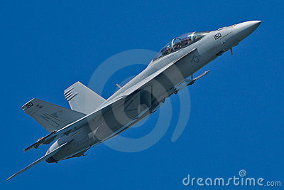 Boeing F/A-18F Super Hornet aircraft Editorial Image