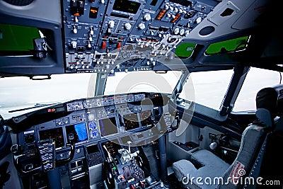 Boeing interior