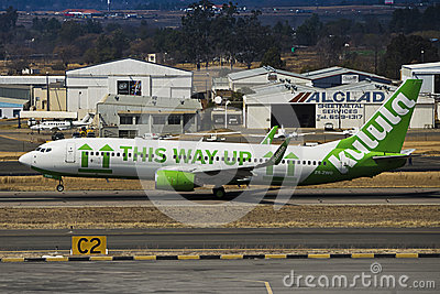 Boeing 737-8K2 (WL) - Takeoff - Lanseria Airport Editorial Photography