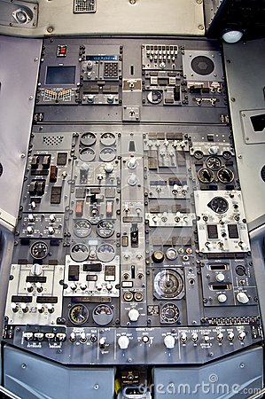 Boeing overhead pannel