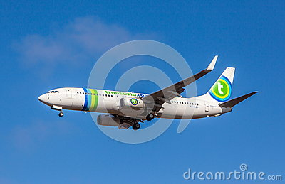 Boeing 737-800 Editorial Photo