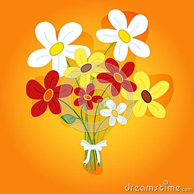 Boeket van bloemen