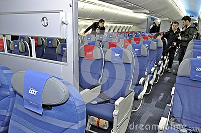 Boening 787 Dreamliner Editorial Image