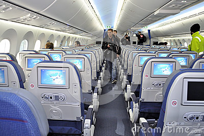 Boening 787 Dreamliner Editorial Stock Photo