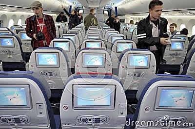 Boening 787 Dreamliner Editorial Stock Photo